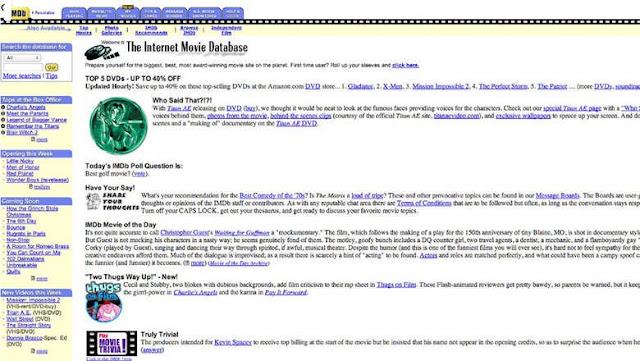 IMDb - قاعدة بيانات الأفلام على الإنترنت