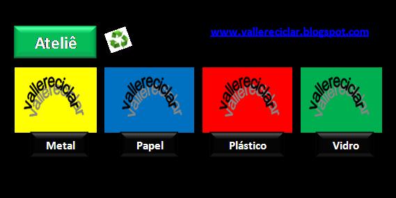 Cartão de Visita  Valle Reciclar: Recebeu? Valle Devolver !!! :)