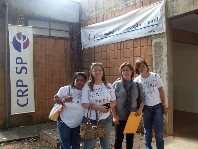 I Encontro Regional de Educação Infantil (Ourinhos, Assis, Marilia, Presidente Prudente e Bauru)