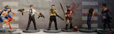 Zombicide Zombies Painted Amy Goth Phil Cop Doug