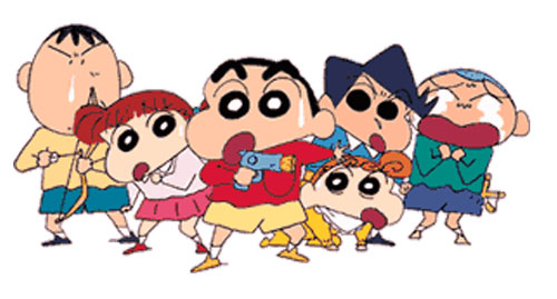 anime shinchan amigos