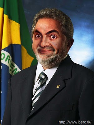 Face Mr. Bean, Politica, Lula, presidencia