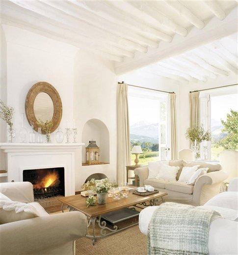 Blog by nela salones con calor de hogar with home heat for El mueble salones