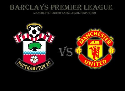 Southampton vs Manchester United Premier league Barclays 2012