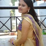Usha Photos in Salwar Kameez at Gundello Guchi Guchi Champake Movie Press Meet 19