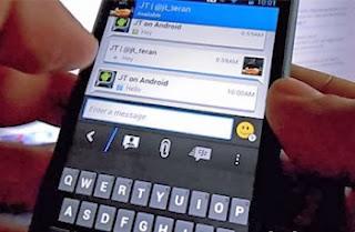 Gambar BBM Blackberry Messenger untuk Android