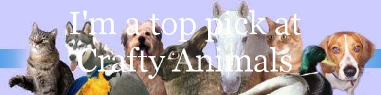 Top Pick for Crafty Animals Challenge Blog