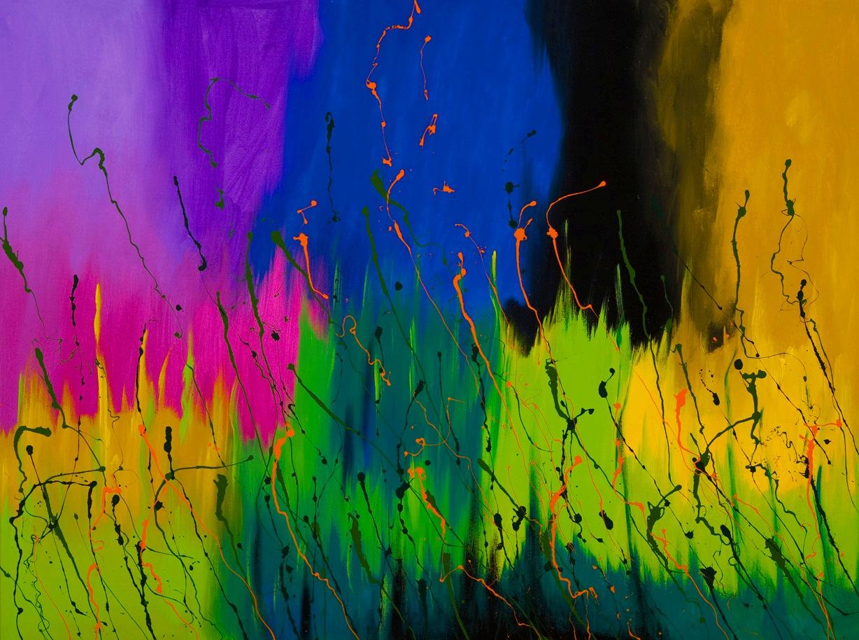 Los mejores pintores fot grafos y escultores de colombia for Cuadros coloridos modernos
