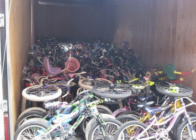 Bikes For The World Donation These kids bikes