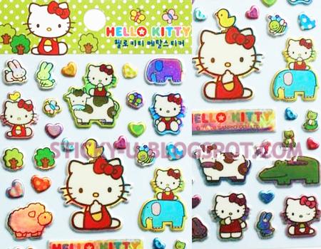 041: Hello Kitty Glamour Sticker