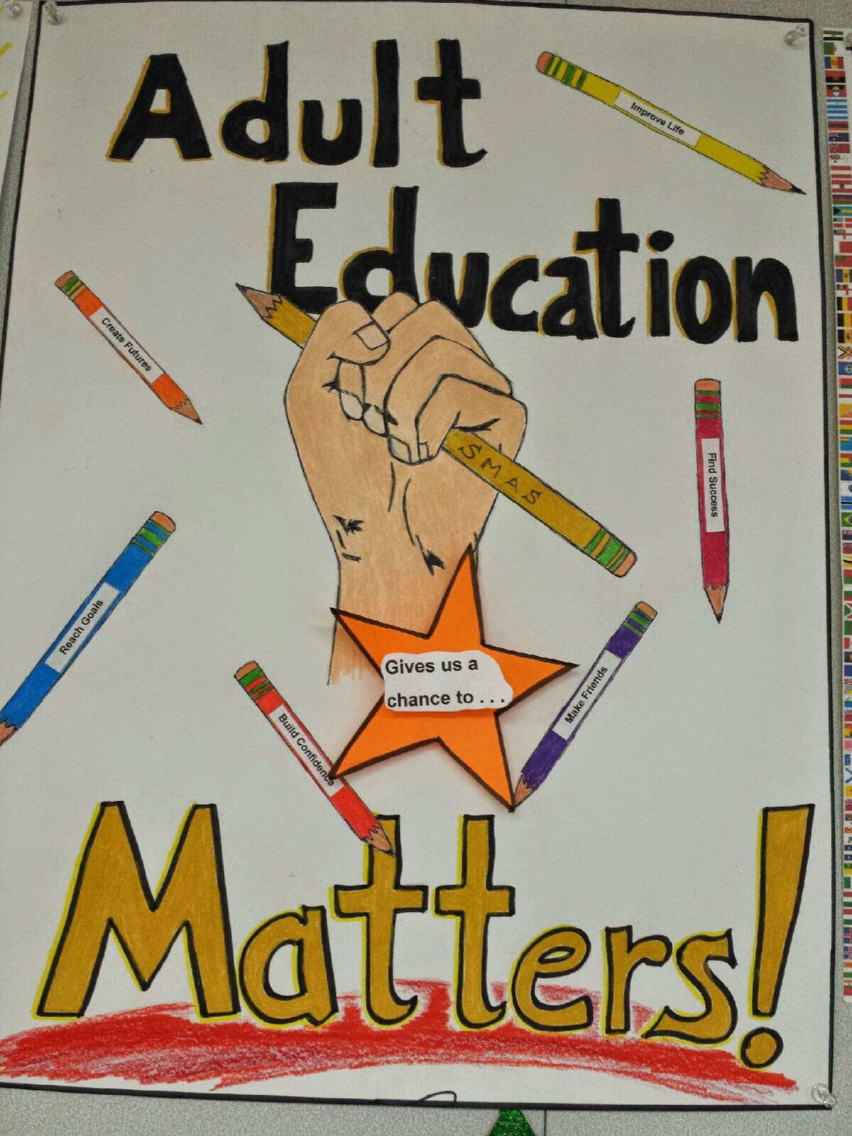 adult education matters want more info adult education adult  poster contest