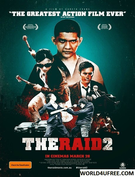 The Raid 2 2014 BluRay Hindi Dubbed (Cam Cleaned) 1GB