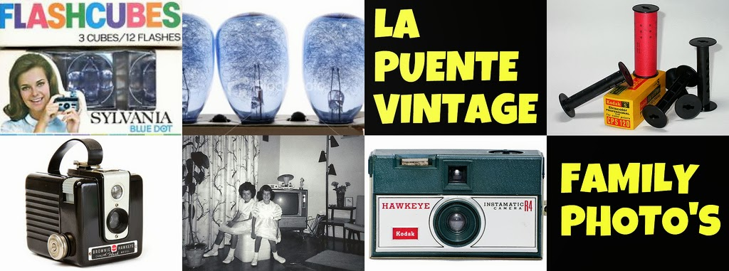 LA PUENTE VINTAGE FAMILY PHOTO'S