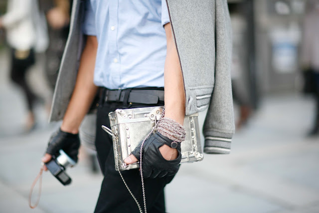 silver accessories streetstyle