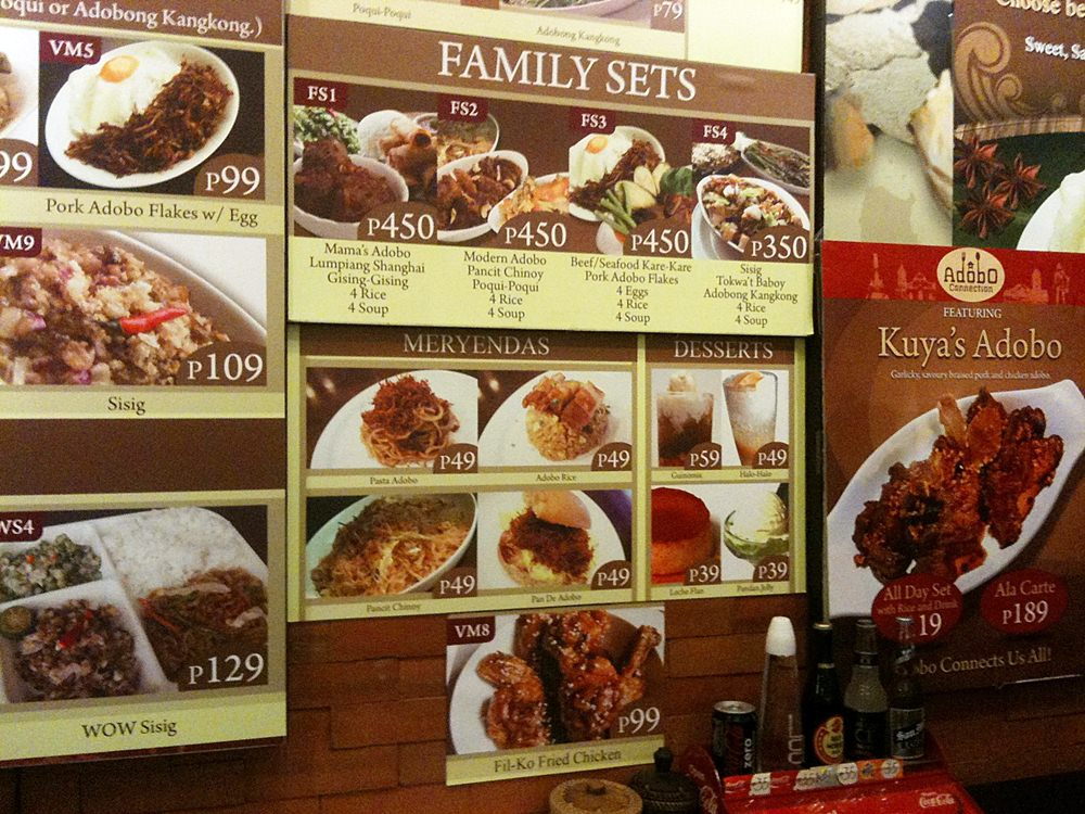 Food trippin adobo connection food junction eastwood citywalk i was confused on which to have for dinner since there are a lot of choices plus the fact that everything in their menu is very affordable forumfinder Choice Image