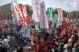 Protesto na Espanha
