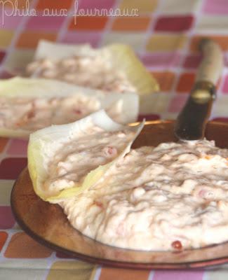 recettes entrees  Gratin dendives à la crème damande