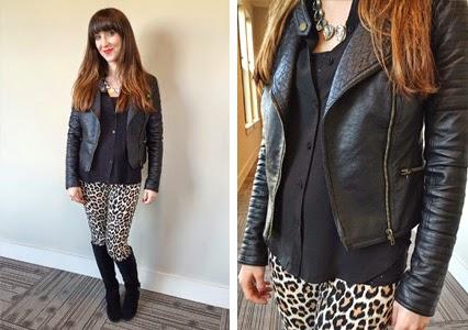 nashville fashion, nashville style, nashville blogger, baublebar necklace, kate spade jeans, kate spade leopard print pants