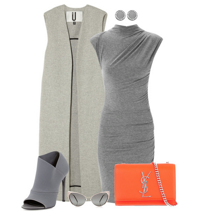 Gray Ladies Outfits Ideas...