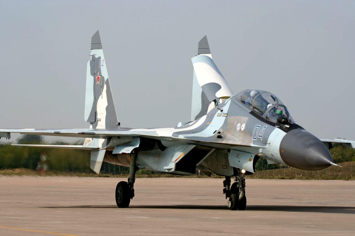 Sukhoi Su-35 Flanker-E Wallpaper 3