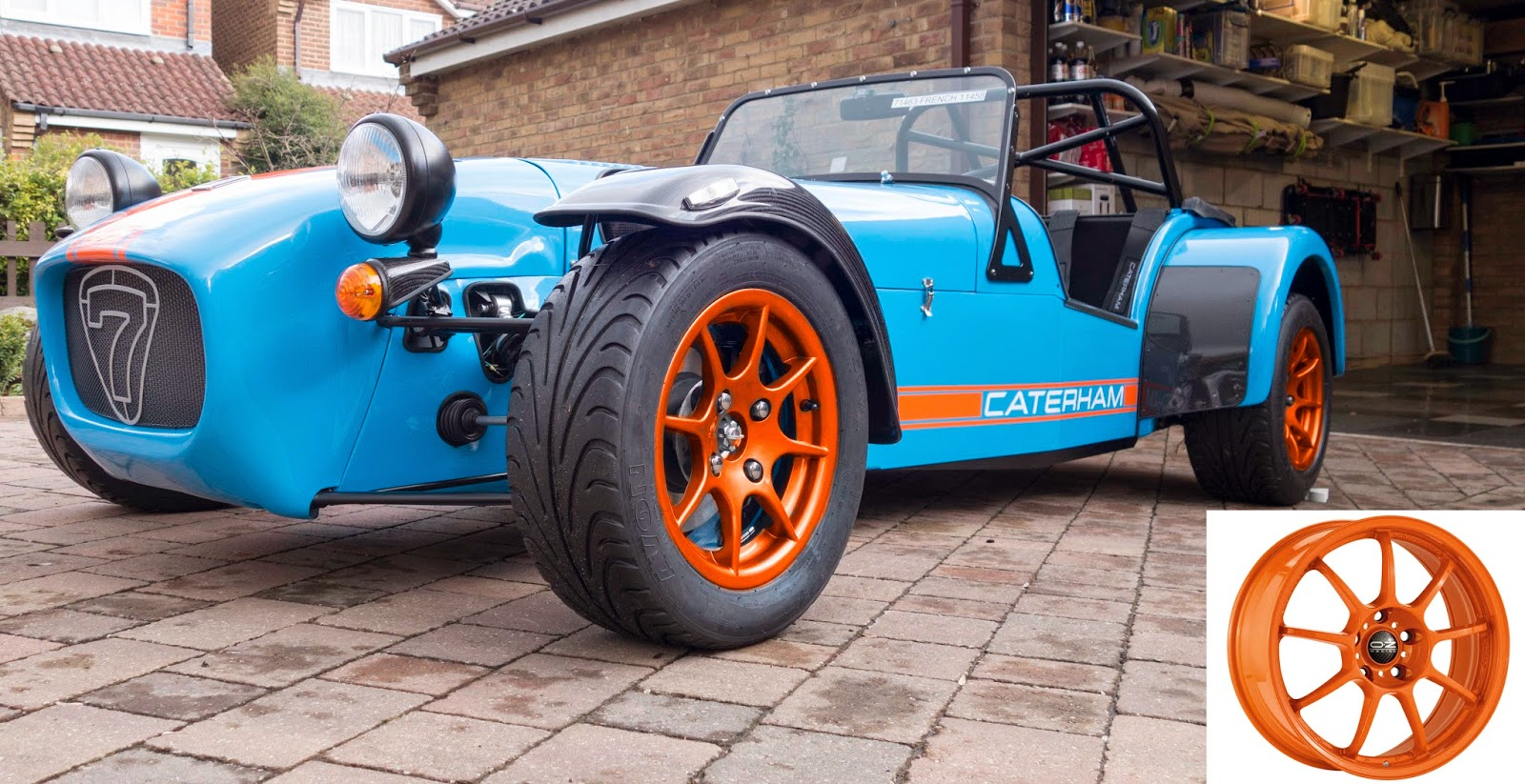 Option 2 - Gloss Orange Wheels