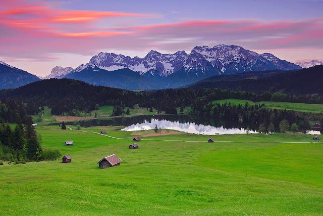 Alpes Montañosos de Baviera Alemania Imagenes de Montañas