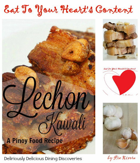 Eat to your hearts content deliriously delicious dining pinoy food recipe lechon kawali forumfinder Images