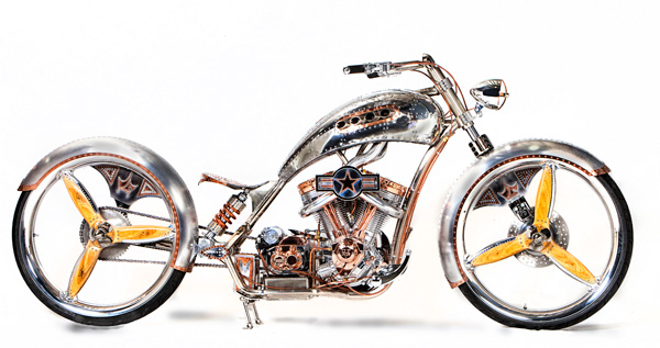 This is the 2011 Biker Build-Off result from Paul Jr. See blogpost of