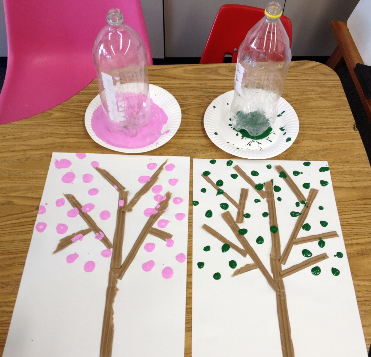 earth day tree apples and abc u0027s