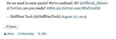 SEAの犯行声明に余裕のHuff UK