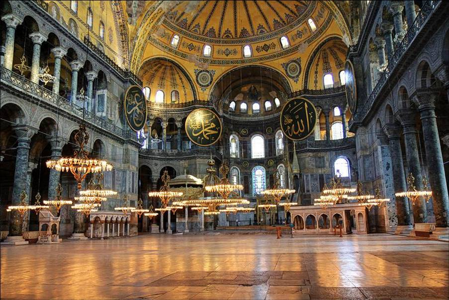 These Are The 25 Best Museums In The World - Hagia Sophia