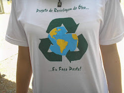 Camiseta confecionada para o Projeto
