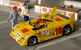 Lola T290 FVC Kodak - Le Mans 1972