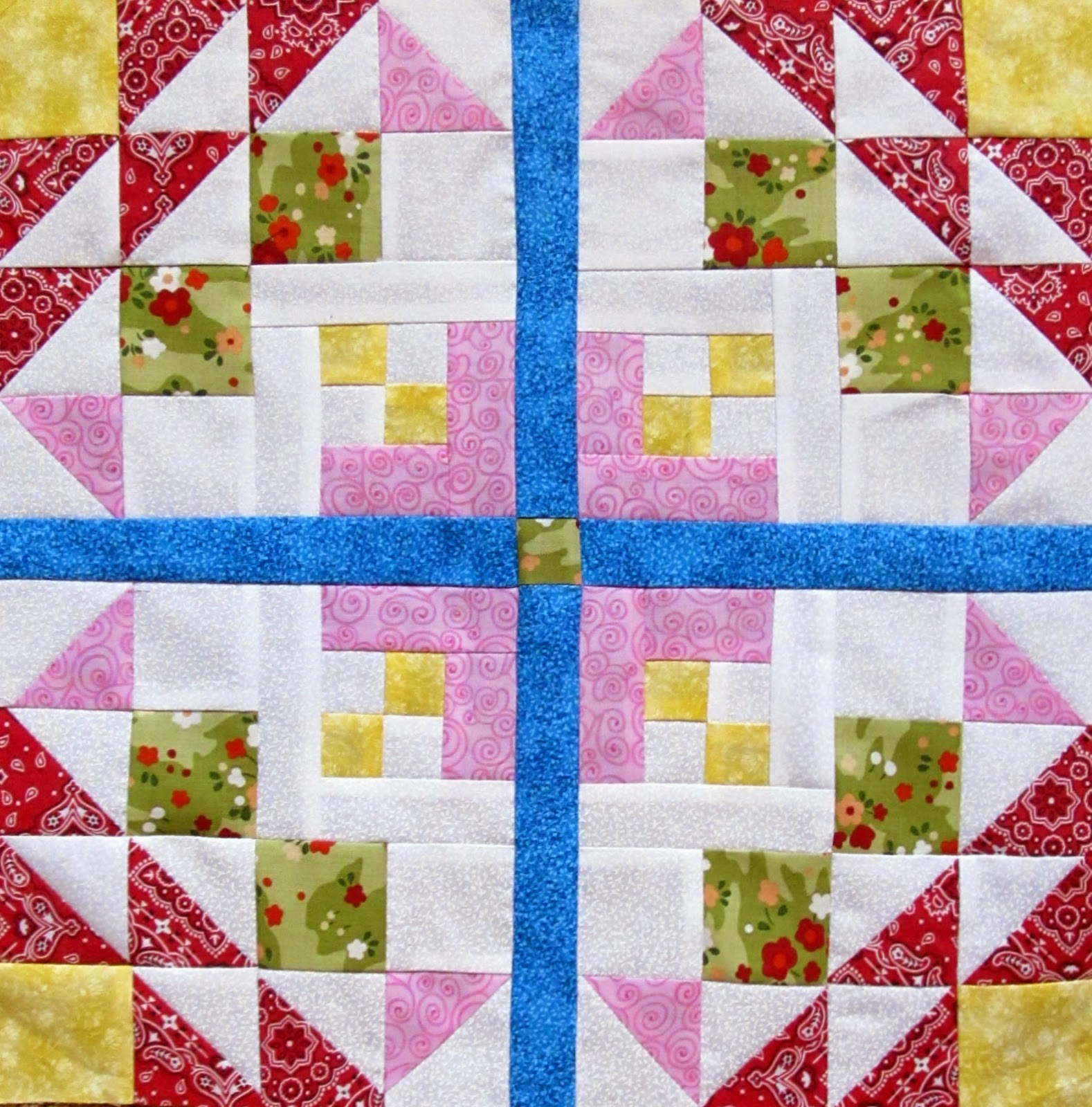 golden eye quilt