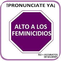 Alto a los feminicidios. Abuelohara
