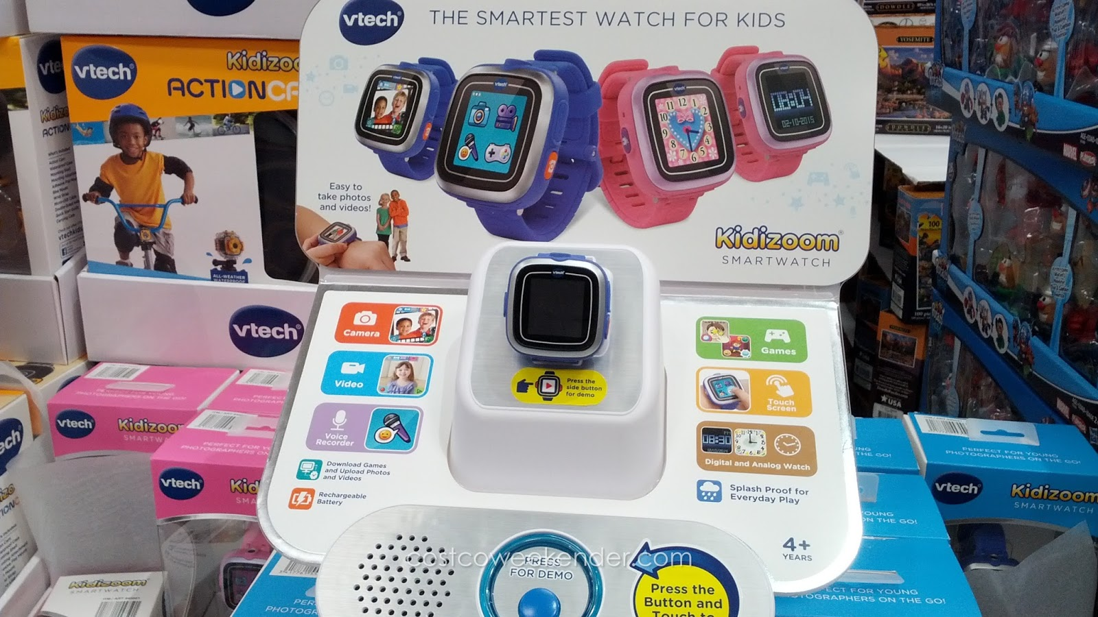 VTech Kidizoom Smartwatch – A watch that can also be a great learning tool