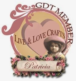 Guest Designer for Live and Love Crafts Feb 2014