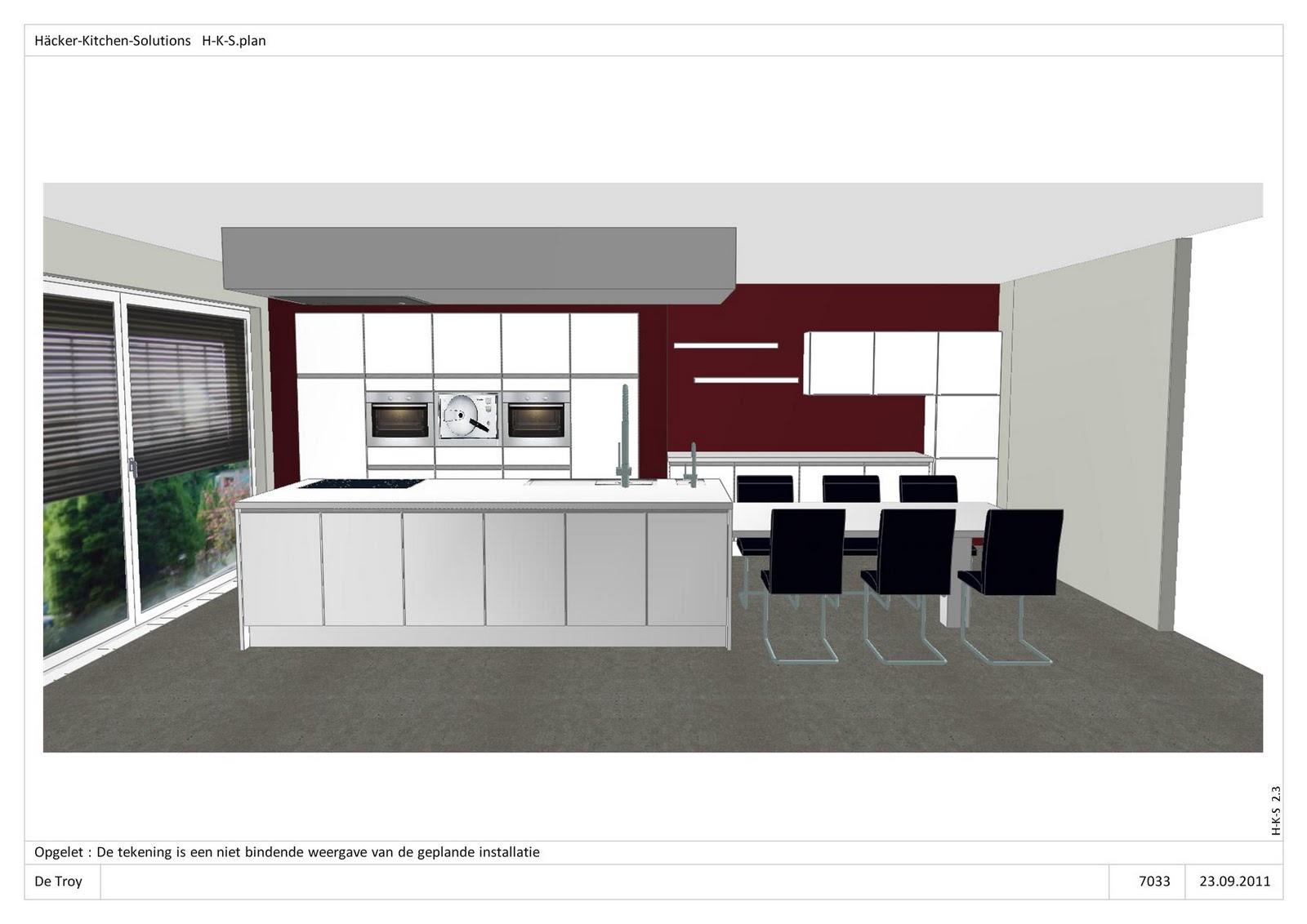 Dovy Keukens Planning : Ons bouwavontuur 3D Foto s van de keuken