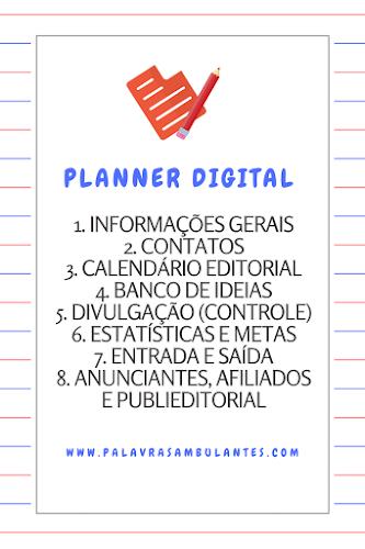 Planner Digital 2017 - Palavras Ambulantes