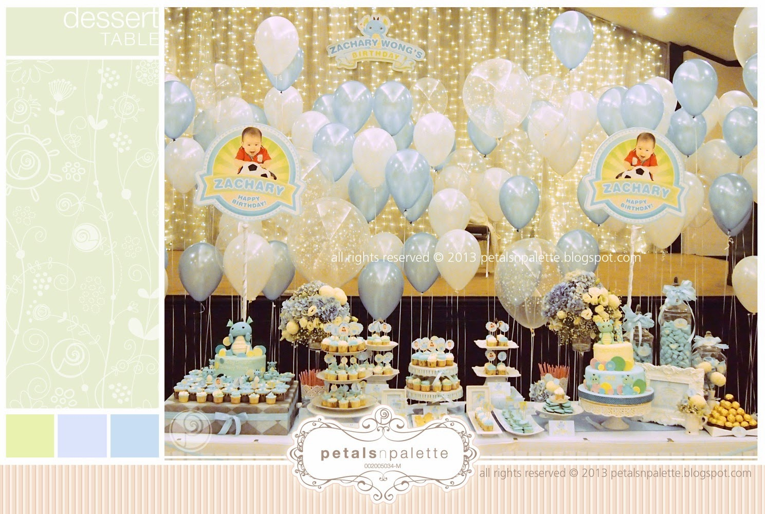 Dessert Table Birthday Party Wedding Decoration Malaysia