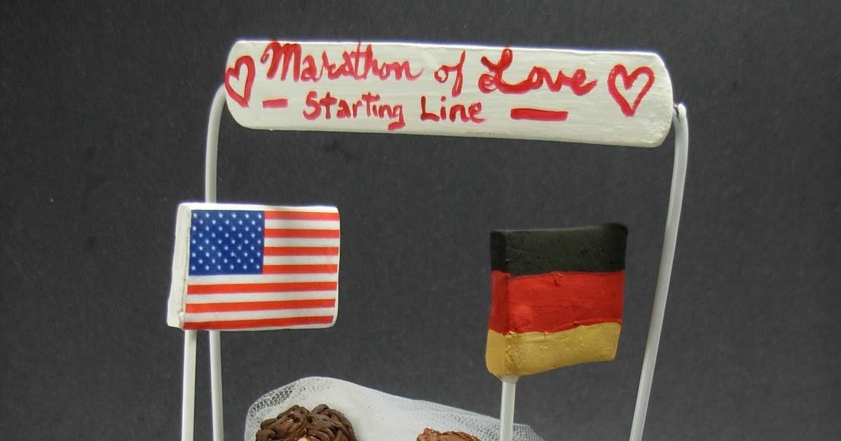 custom wedding cake toppers: American Bride Marries German ...