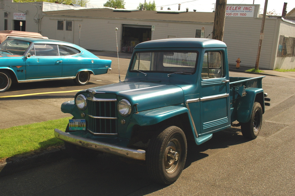 Old jeep pickup trucks for sale