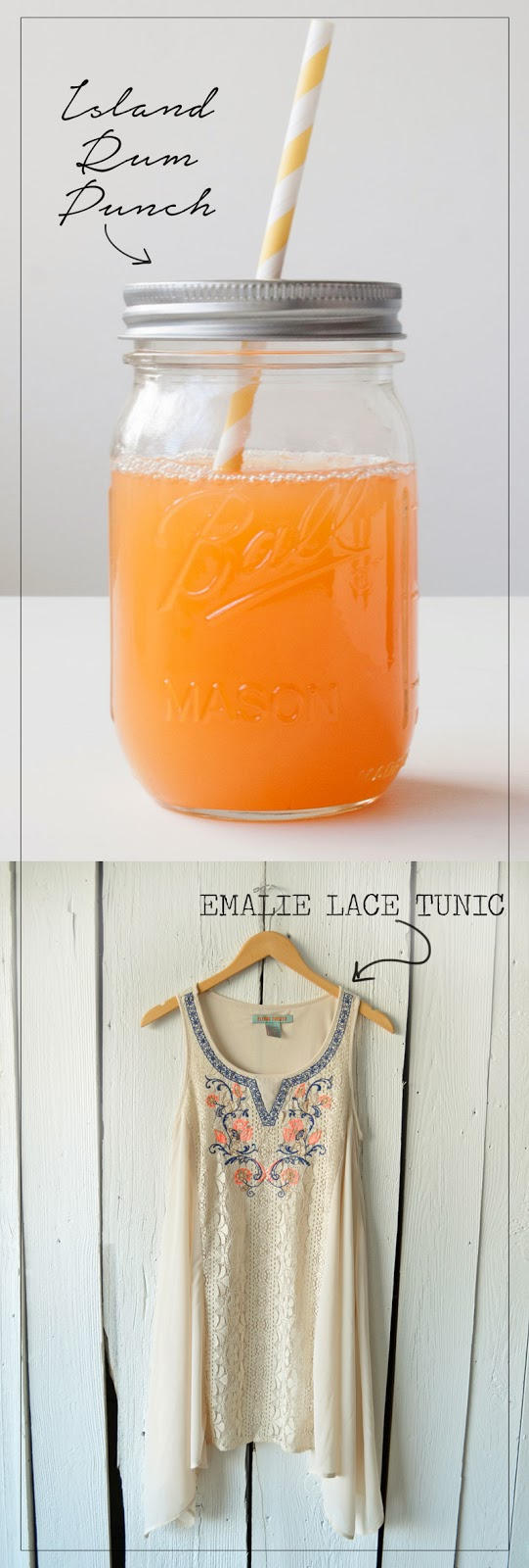 Island Rum Punch via illistyle.com