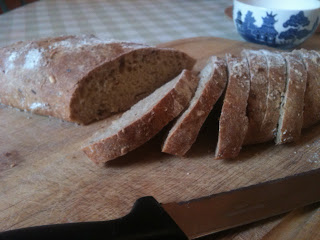 wholegrain seeded batard