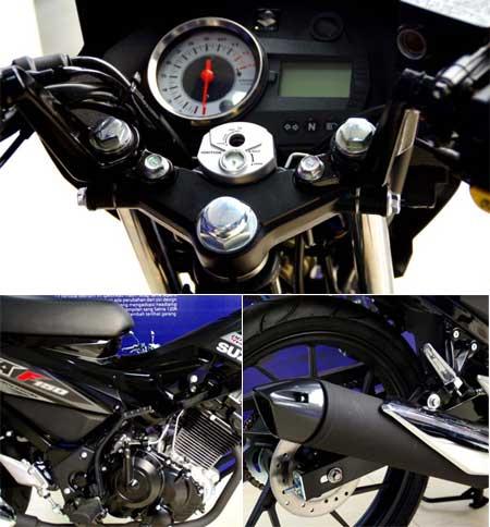 gambar speedometer Satria FU150 S