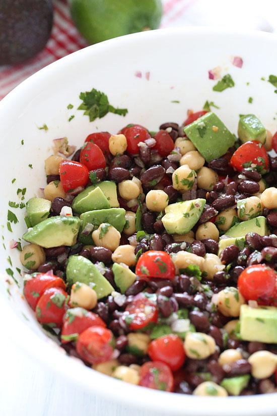 Fiesta Bean Salad | Skinnytaste
