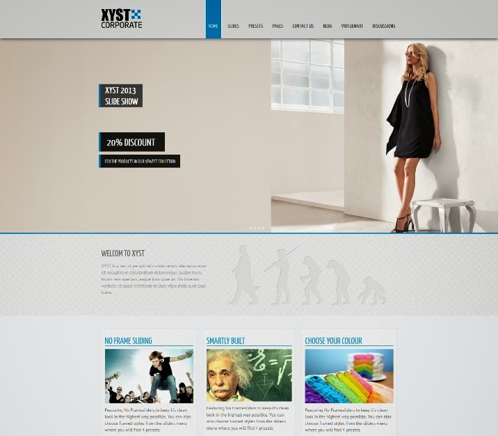 Xyst - Corporate Responsive Joomla Template