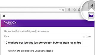 Compartir páginas web directo a tu correo Yahoo Con Firefox