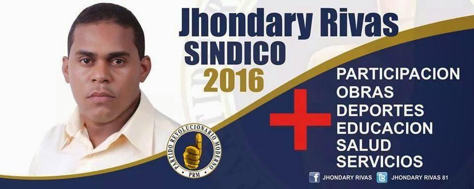 Jhondary Rivas sindico Las Clavellinas