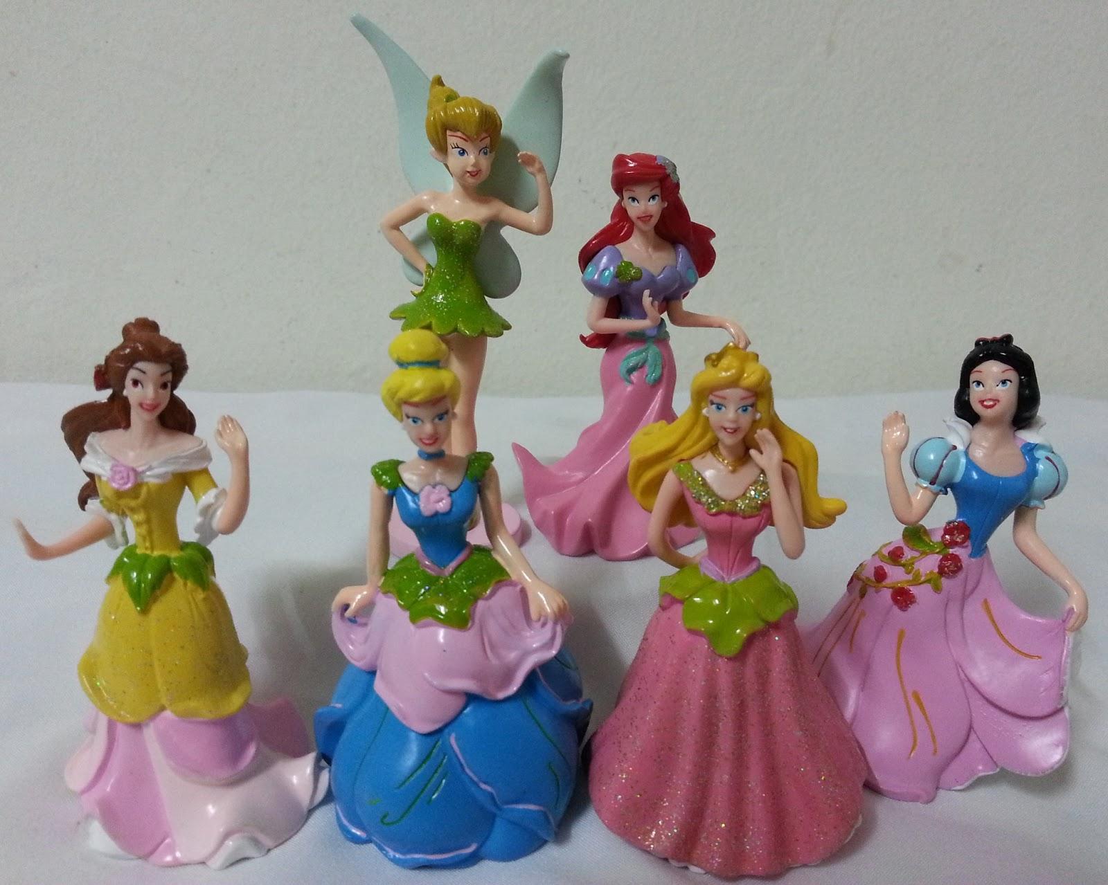 Cinderella , Princess Figurines Cake Topper / Disney ...